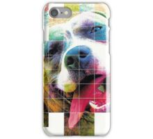 Layla - American Staffordashire Terrier Pit Bull iPhone Case/Skin