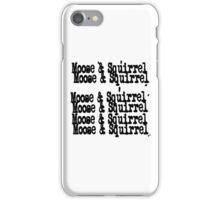 Supernatural - Moose & Squirrel iPhone Case/Skin