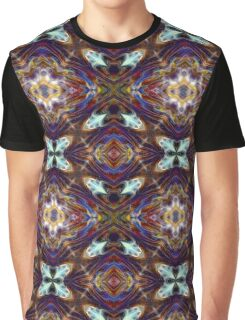 Fourth Dimension Rainbow Psychedelic Abstract Graphic T-Shirt