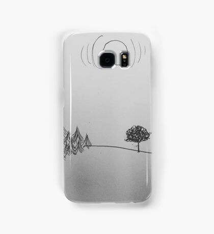 """Hey"" Samsung Galaxy Case/Skin"