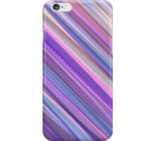 Painted Background in Shades of Lilac, Pink and Blue  iPhone Case/Skin