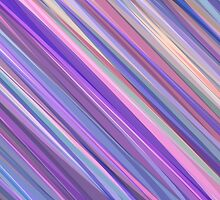Painted Background in Shades of Lilac, Pink and Blue  by amovitania