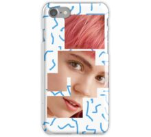 Fragmented Grimes iPhone Case/Skin