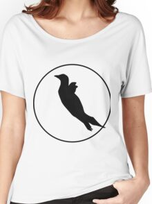 Penguin Silhouette Women's Relaxed Fit T-Shirt