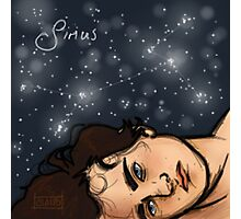 Sirius Black is a Star Photographic Print