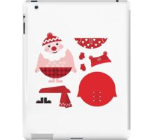 Cute happy Santa, christmas costume / creative Gift for Kids iPad Case/Skin
