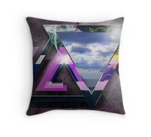 Shapes n Clouds Throw Pillow
