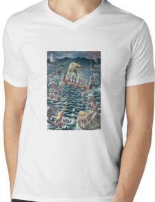 all at sea Mens V-Neck T-Shirt