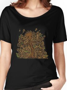 groot kid Women's Relaxed Fit T-Shirt