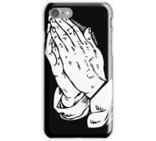 HOLY PRAYER iPhone Case/Skin