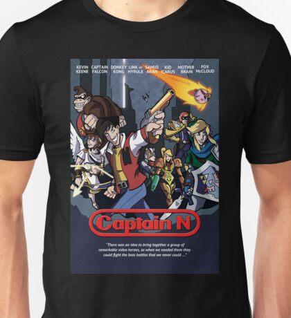 Captain N Poster Unisex T-Shirt