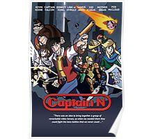 Captain N Poster Poster