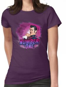 ROBBIE ROTTEN - NUMBER ONE Womens Fitted T-Shirt