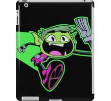 Teen Titans - Beastboy running iPad Case/Skin