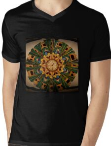 Dandy steampunk mandala Mens V-Neck T-Shirt