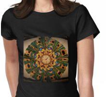 Dandy steampunk mandala Womens Fitted T-Shirt