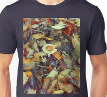 Mushroom after Rain / Pilz im Laub nach dem Regen Unisex T-Shirt