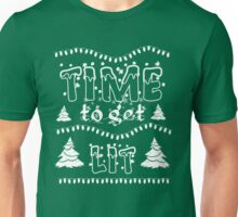Time to get Lit Ugly Christmas Unisex T-Shirt
