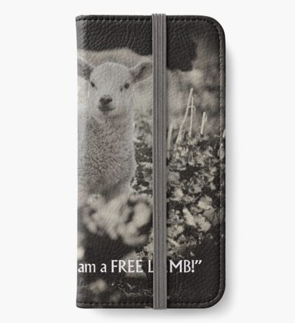 I am not a number! iPhone Wallet/Case/Skin