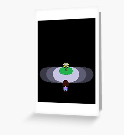 Art of Undertale - Videogame Greeting Card