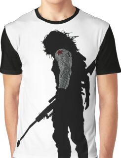 winter soldier silhouette Graphic T-Shirt