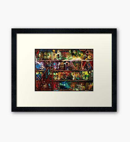 The Fantastic Voyage Framed Print