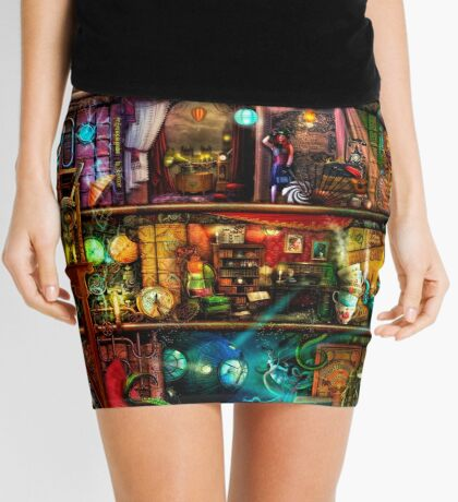 The Fantastic Voyage Mini Skirt