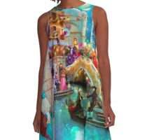 Carnival Moon A-Line Dress