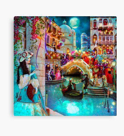 Carnival Moon Canvas Print