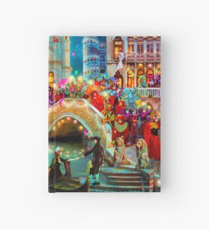 Carnival Moon Hardcover Journal