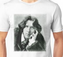 Oscar Wilde, playwright and author Unisex T-Shirt