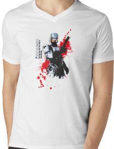 Robocop Mens V-Neck T-Shirt