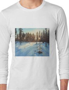 Freezing Forest Long Sleeve T-Shirt