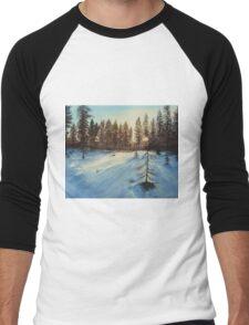 Freezing Forest Men's Baseball ¾ T-Shirt