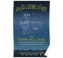 David Liebe Hart W/ Timmy Williams @ The Lookout Lounge Poster