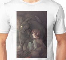 Thunderstorm - Hiccup and Toothless Unisex T-Shirt