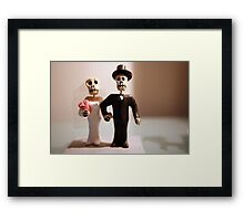 Day of the Dead Wedding #2 Framed Print