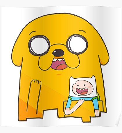 Adventure Time!!!! Poster