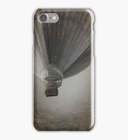 Hot Air Balloon Da Vinci style iPhone Case/Skin