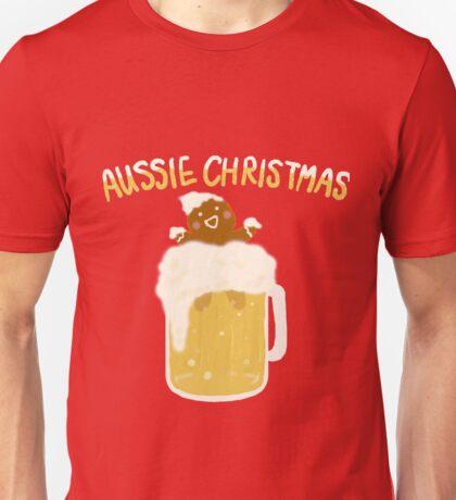 Aussie Christmas - Beer Unisex T-Shirt