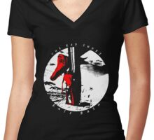 Kate Bush - The Red Shoes Women's Fitted V-Neck T-Shirt
