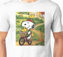 Ride Snoopy Unisex T-Shirt