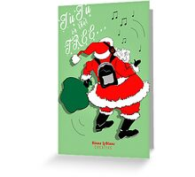 JuJu Santa 2016 Greeting Card