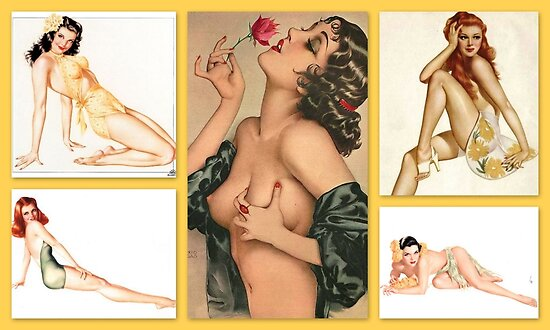 Tribute to Alberto Vargas  by ©The Creative  Minds