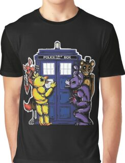 The Animatronics Have the Phone Box  Graphic T-Shirt