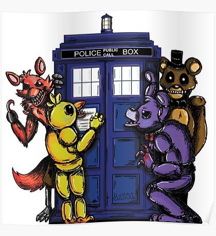 The Animatronics Have the Phone Box  Poster