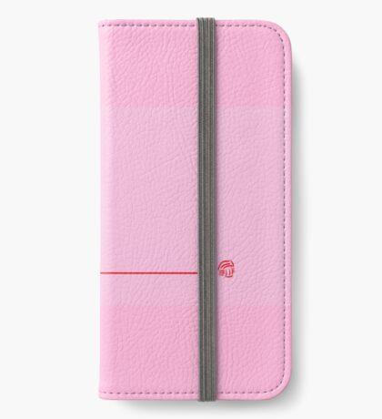 Yarn tied to Black Cat iPhone Wallet/Case/Skin