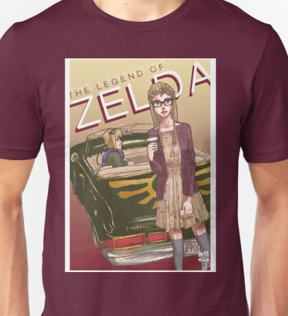 Hipster Zelda - Legend of Zelda Unisex T-Shirt