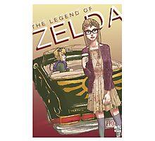 Hipster Zelda - Legend of Zelda Photographic Print