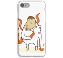 Astronaut - Alien takeover iPhone Case/Skin